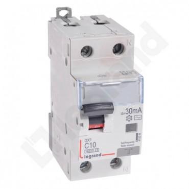 Wyłącznik różnicowo-nadprądowy 2P 10A C 0,03A typ AC P312 DX3 411011