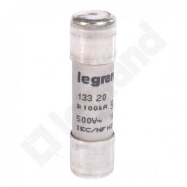 Wkładka bezpiecznikowa cylindryczna 10x38mm 20A gL 500V HPC 013320