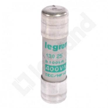 Wkładka bezpiecznikowa cylindryczna 10x38mm 25A aM 400V HPC 013025