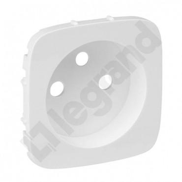 VALENA ALLURE Plakietka gniazda pojedynczego 2p+z biały 755305