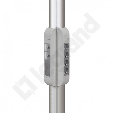 Kolumna aluminiowa okrągła 0,7m DLP 030729
