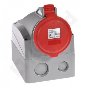 Gniazdo stałe 5P 32A 400V czerwone IP44  P17 TEMPRA PRO 555259