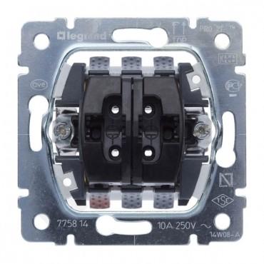 SISTENA LIFE Przycisk żaluzjowyi dwubiegunowy z blokadą elektryczną 775814