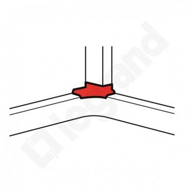 DLP Rozgałęzienie narożne kanału 65mm 010764