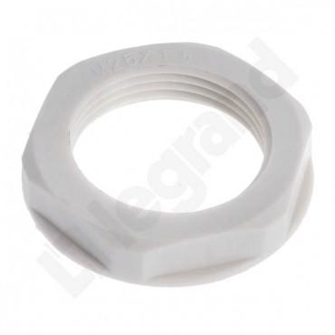 Nakrętka poliamidowa M25 jasnoszara ISO-25 096845