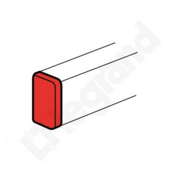 Końcówka kanału DLP 195x35/50/65/80 biała 010707