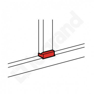 Rozgałęźnik płaski do kanału DLP 65x 010738