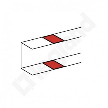 Osłona połączenia podstawy kanału DLP 80 biała 010692
