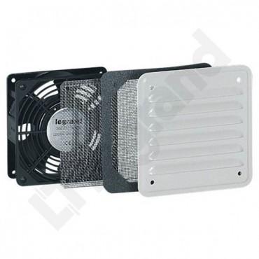 Wentylator 30m3/h 230V IP32 z kratkami 034817