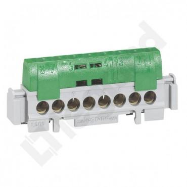 Listwa przyłączeniowa 8-otworów zielona IP2xZ-8 004832