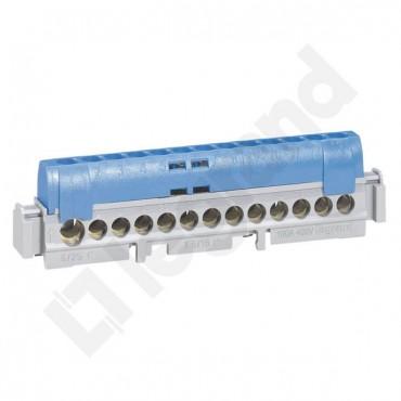 Listwa przyłączeniowa 13-otworów niebieska IP2xN13 004844