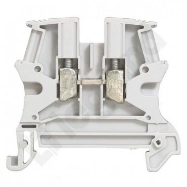 Złączka szynowa 2-przewodowa 2,5mm2 szara VIKING 037160