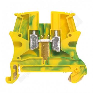 Złączka VIKING 10 mm2 zielono-żółta 037173