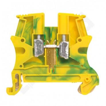 Złączka VIKING 6 mm2 zielono-żółta 037172