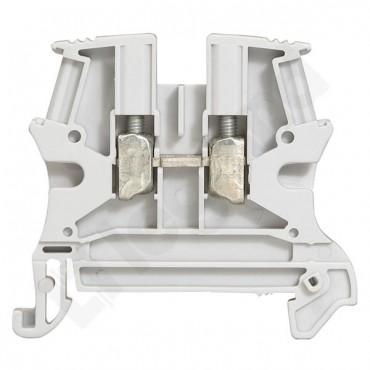 Złączka szynowa 2-przewodowa 4mm2 szara VIKING 037161