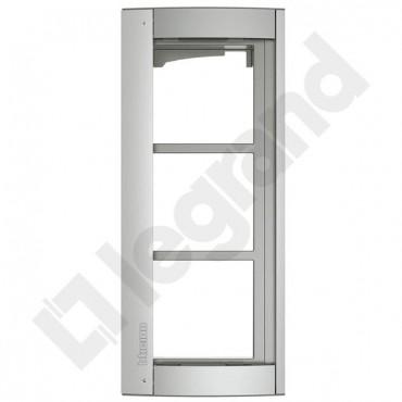 SFERA NEW Ramka z uchwytem do paneli /3moduły/ aluminium 350231
