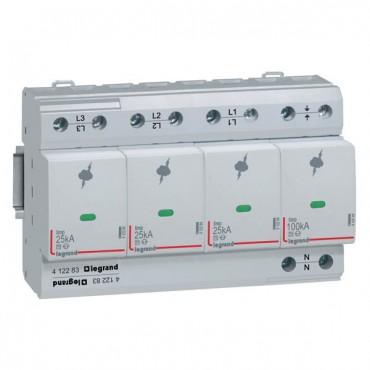 Ogranicznik przepięć B 4P 25kA 350V AC 1,5kV 412283