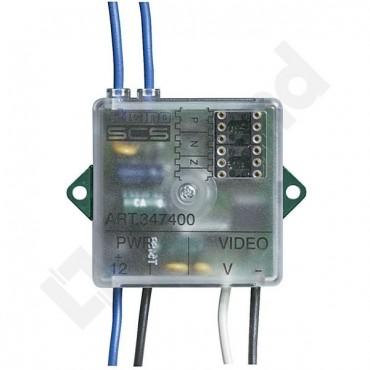 Konwerter sygnału wideo COAX/2W do kamer 347400