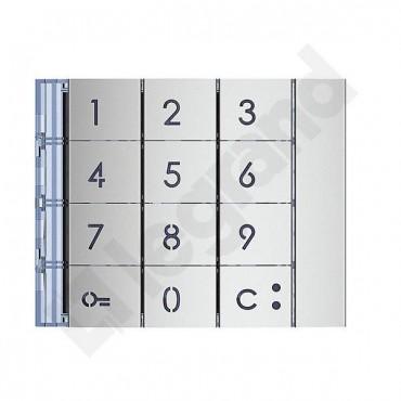 Axolute plakietka modułowa klawiatury aluminium 353001