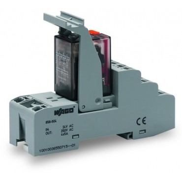 Przekaźnik przemysłowy 24V AC 4p 858-504