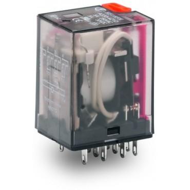 Przekaźnik przemysłowy 230V AC 4p 5A 858-153