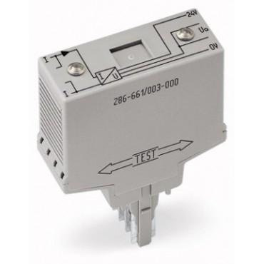 Przekaźnik kontroli przepływu prądu 20mm AC 80mA-6A 286-661