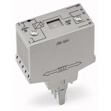 Przekaźnik kontroli przepływu prądu 20mm AC 0,2A-3A 286-664