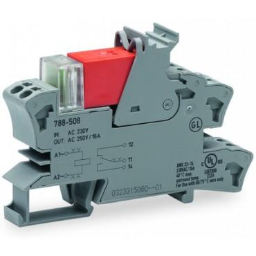 Przekaźnik przemysłowy 1P 16A 230V AC 788-508