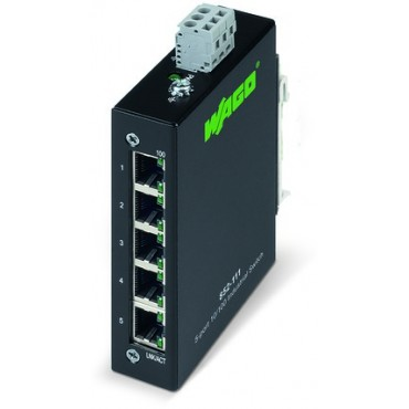 Switch przemysłowy ECO 5 portów 100BASETX 852-111