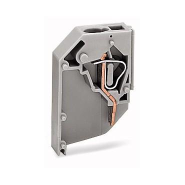 Złączka do transformatorów 4mm2 szara 711-131 /100szt./