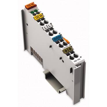 Moduł 2DO 230V AC 2,0A przekaznikowy 2z 750-512