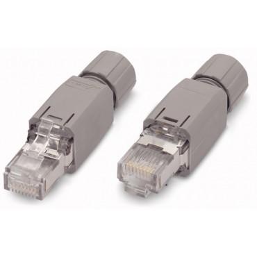 Wtyczka sieci obiektowej ETHERNET RJ45 IP20 750-975