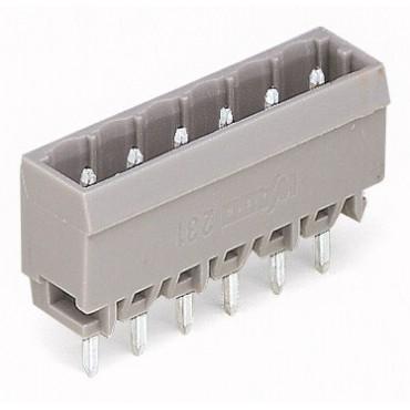 Wtyk MCS-MIDI Classic 8-biegunowy szary raster 5mm 231-138/001-000