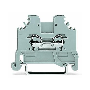 Złączka szynowa 2-przewodowa 1,5mm2 szara 279-101