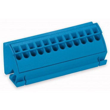 Blok potancjałowy 4mm2 niebieski 812-104