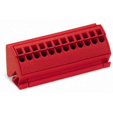 Blok potencjałowy 4mm2 czerwony 812-103