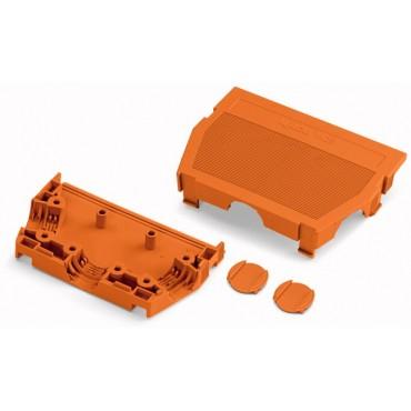 Obudowa zabezpieczająca przewody 16-biegunowa pomarańczowa raster 5,08mm 232-646