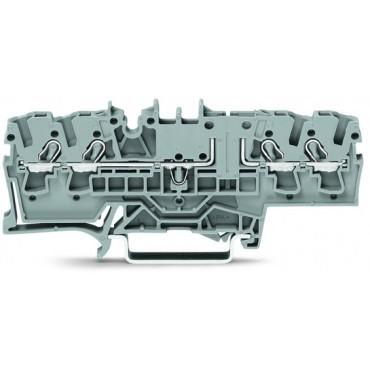 Złączka bazowa 4-przewodowa 2,5mm2 szara TOPJOBS 2002-1861