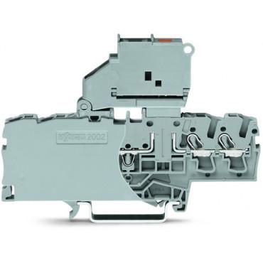 Złączka bezpiecznikowa 2,5mm2 szara TOPJOBS 2002-1811/1000-542