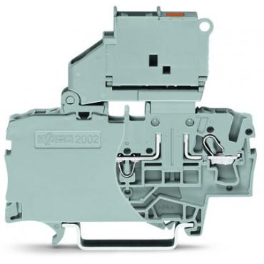 Złączka 2-przewodowa 2,5mm2 bezpiecznikowa szara TOPJOBS 2002-1611/1000-542