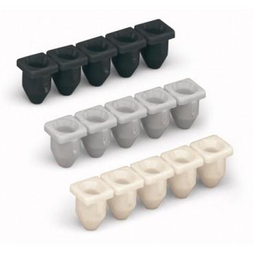 Blokada izolacji 0,08-0,2mm2 biała 231-670 /25szt./