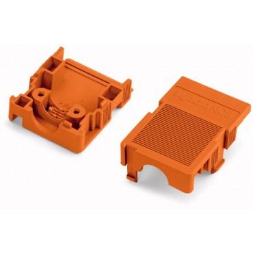 Obudowa zabezpieczająca przewody 4-biegunowa pomarańczowa raster 5,08mm 232-634
