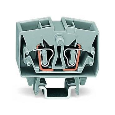 Złączka 4-przewodowa 2,5mm2 pomarańczowa 264-726