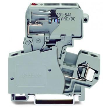 Złączka bezpiecznikowa 10mm2 szara 281-613/281-541