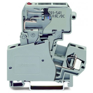 Złączka bezpiecznikowa 10mm2 szara 281-623/281-541