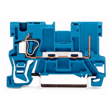Złączka bazowa X-COM 1-przewodowa / 1-pinowa niebieska 769-176/000-006