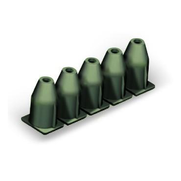 Blokada izolacji 0,75-1,0mm2 ciemnoszara 769-472 /25szt./