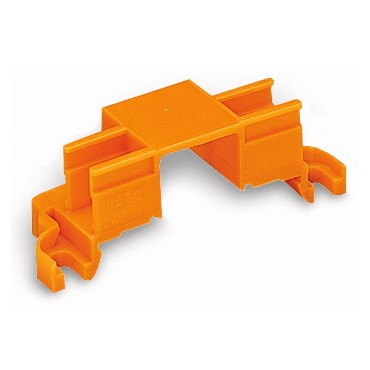 Adapter montażowy na 4 złączki MIKRO pomarańczowy 243-112 /10szt./