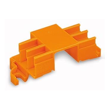 Adapter montażowy na 6 złączek MIKRO pomarańczowy 243-113 /10szt./