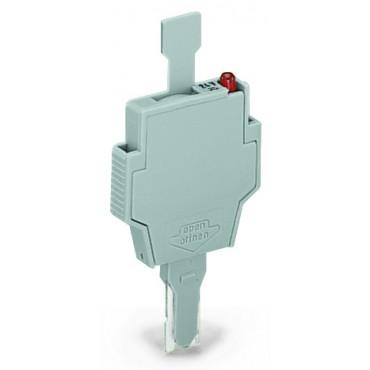 Wtyk bezpiecznikowy szary 6.3A G 5x20mm 281-512/281-501